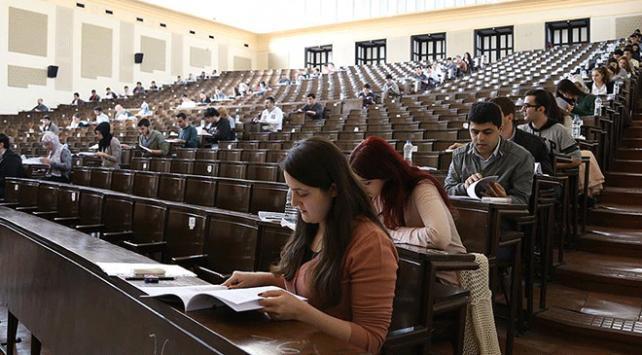 Üniversitelerde boş kalan 103 bin 6 kontenjana yerleştirme yapıldı