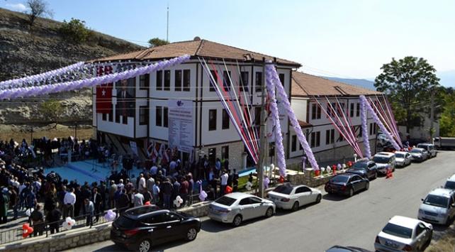 Safranbolunun tarihi konak görünümlü itfaiye binası hizmete girdi