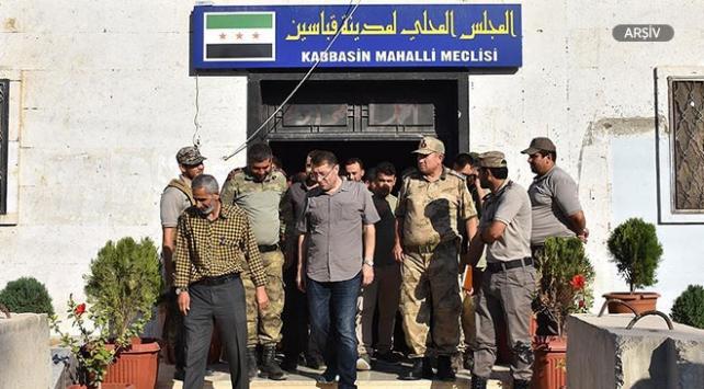 Fırat Kalkanı bölgesinde sosyal hizmetler binası açıldı