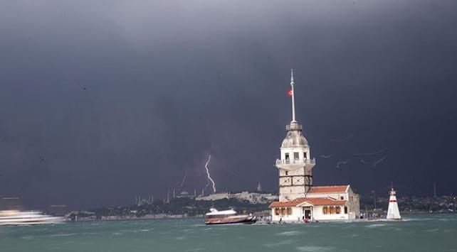 Marmara Bölgesinde gök gürültülü sağanak bekleniyor