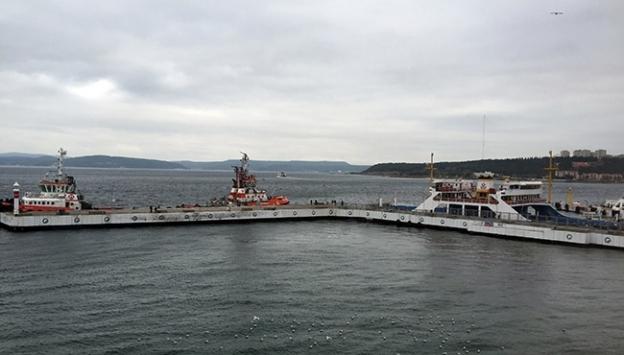 Çanakkalede bazı feribot seferleri iptal edildi
