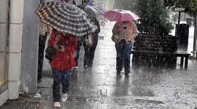 Marmara, Ege ve Batı Akdeniz için kuvvetli yağış uyarısı