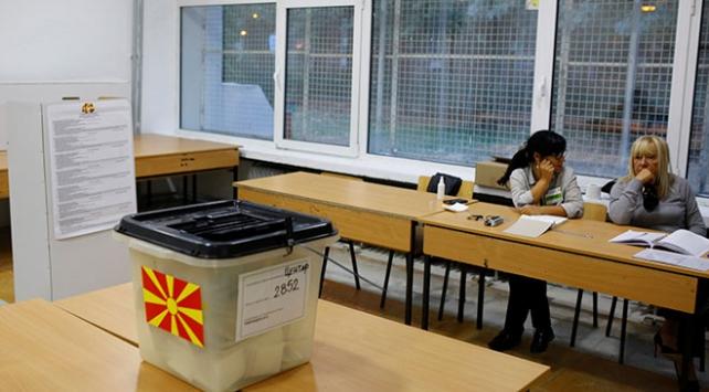 Makedonyadaki referanduma katılım yüzde 36da kaldı