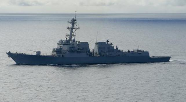 Son dakika ABD-Çin gerilimi alev aldı Gemiler karşı karşıya 86