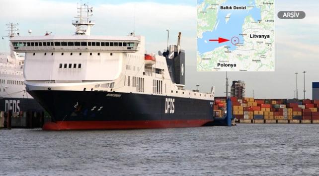 Baltık Denizinde 335 kişiyi taşıyan feribotta patlama