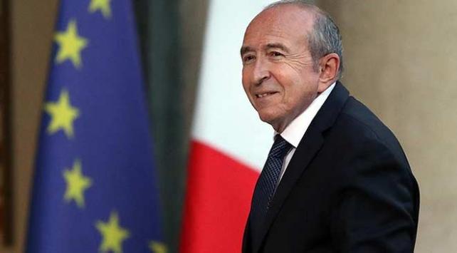 Fransa İçişleri Bakanı Collomb istifa etti
