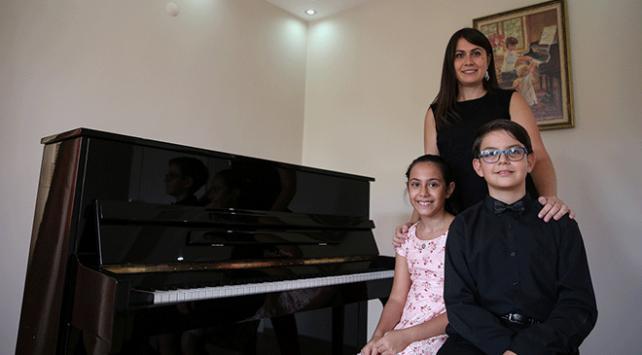 Piyanonun yetenekli çocukları Rusyada özel davetli olarak sahne alacak