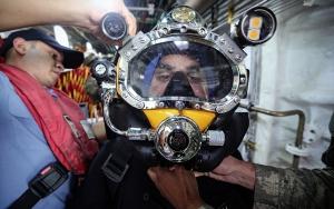 Türkiyenin deniz altındaki kurtarıcı erleri
