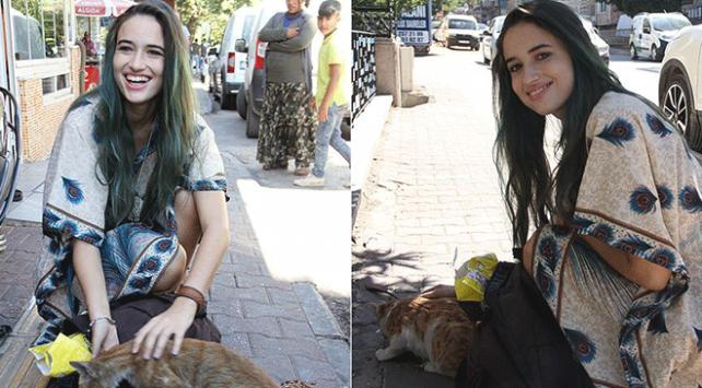 Gaziantep sokaklarının kedileri İtalyan Lucatoya emanet