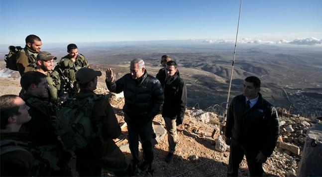 Netanyahu: Golan Tepeleri İsrail egemenliğinde kalacak