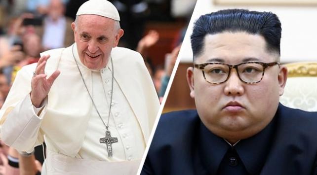 Kim Jong-un Papayı Kuzey Koreye davet etmek istiyor