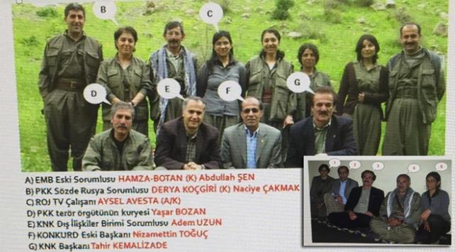 Terör örgütü elebaşlarıyla fotoğrafları ortaya çıkan HDPli başkan tutuklandı