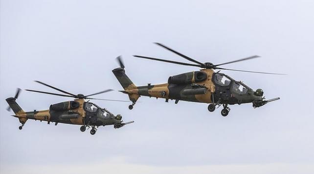 3 ATAK helikopteri daha TSKya teslim edildi