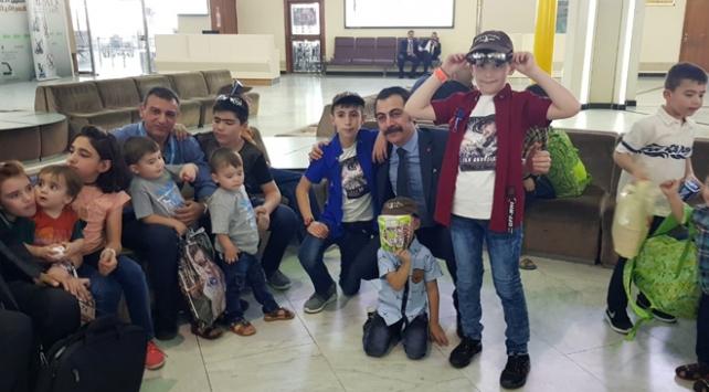Aileleri DEAŞa katılan 17 Türk çocuk Iraktan getirildi