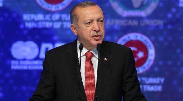 Cumhurbaşkanı Erdoğandan Afrikaya yerli para çağrısı