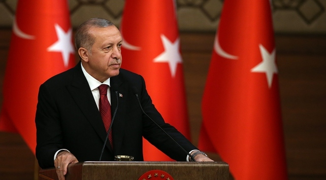 Cumhurbaşkanı Erdoğandan şehit ailelerine başsağlığı telgrafı