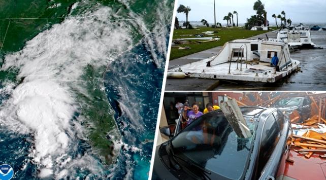 ABDyi vuran kasırga tropik fırtınaya dönüştü