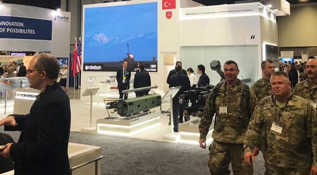 Türk savunma ürünleri ABDde sergilendi