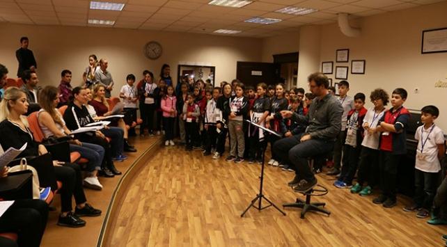 Samsunda öğrencilere opera turu düzenlendi