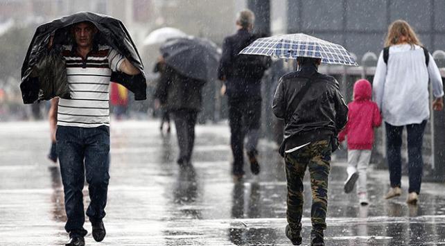 Meteorolojiden Marmaraya sağanak uyarısı