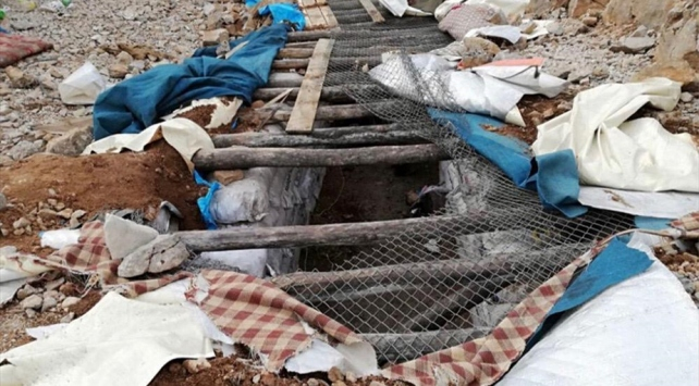 Şırnakta terör operasyonu: Sığınak imha edildi