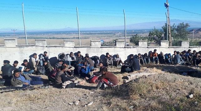 Iğdırda 148 düzensiz göçmen yakalandı