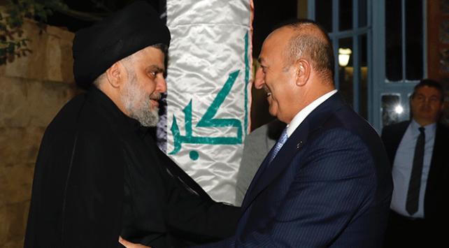 Dışişleri Bakanı Çavuşoğlu Irakta Sadr ile görüştü