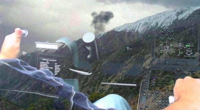 İranda düşen uçağın kokpitinde yaşananlar