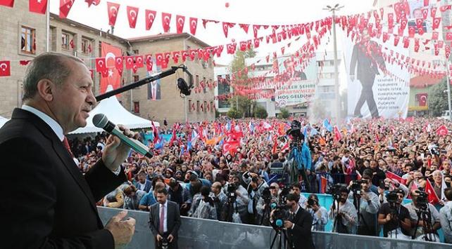 Cumhurbaşkanı Erdoğan: Münbiçe de girilecek