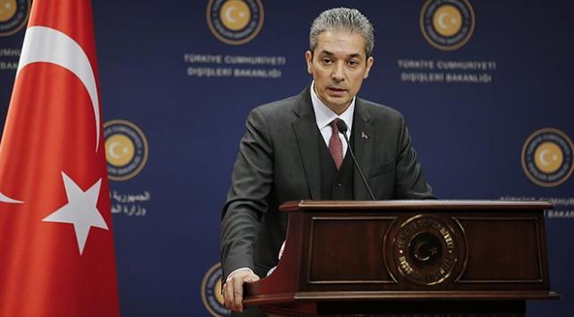 """Türkiyeden Yunanistan-Mısır-GKRYnin """"temelsiz atıflarına"""" tepki"""