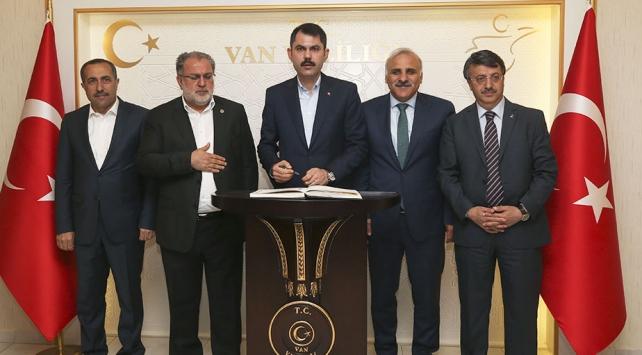 Bakan Kurum: Devletin aktardığı paralar halkın hizmetine sunuluyor