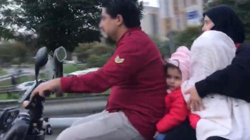 4 kişilik tehlikeli yolculuk kamerada