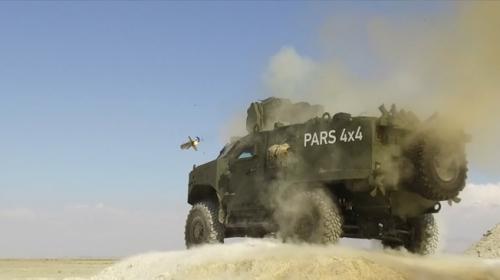 """Türkiyenin """"yeni nesil tank avcıları"""" testleri geçti"""