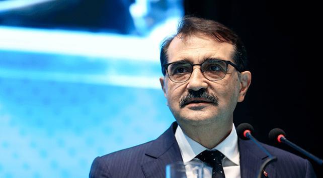 Enerji ve Tabii Kaynaklar Bakanı Fatih Dönmez'den doğal gaz müjdesi