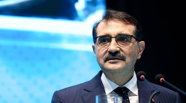 Enerji ve Tabii Kaynaklar Bakanı Fatih Dönmezden doğal gaz müjdesi