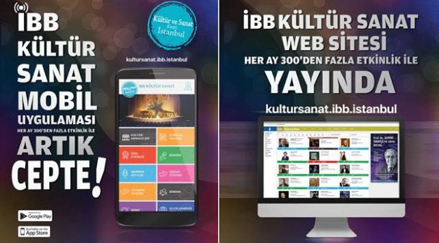 """İstanbul Büyükşehir Belediyesi """"İBB Kültür"""" mobil uygulamasını hayata geçirdi"""