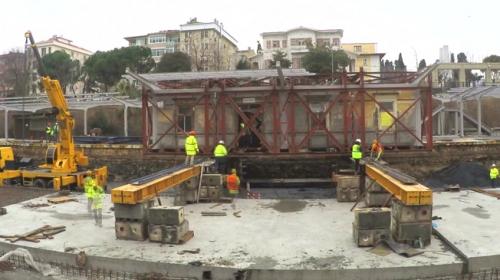 İstanbulda tarihi istasyonlar taşındı