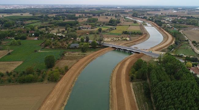 Kanal Edirne projesinde sona gelindi