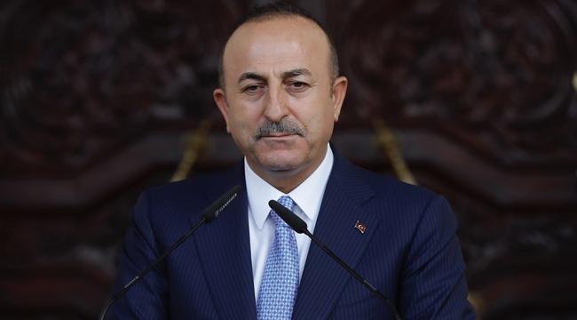 Dışişleri Bakanı Çavuşoğlundan Kıbrıs açıklaması