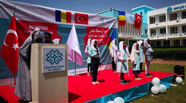 Çaddaki Maarif Okullarında eğitim öğretim başladı