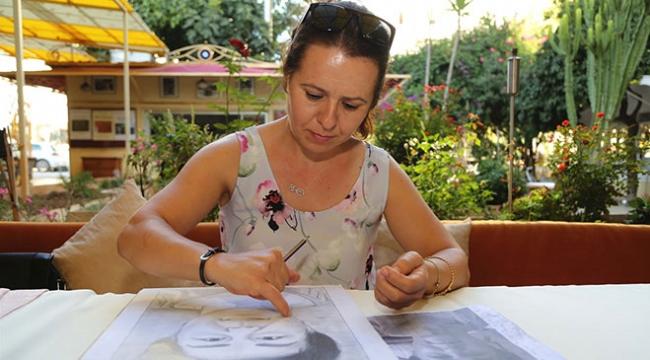 Kanserden kaybettiği kızının hayallerini resmederek çocuklara destek oluyor