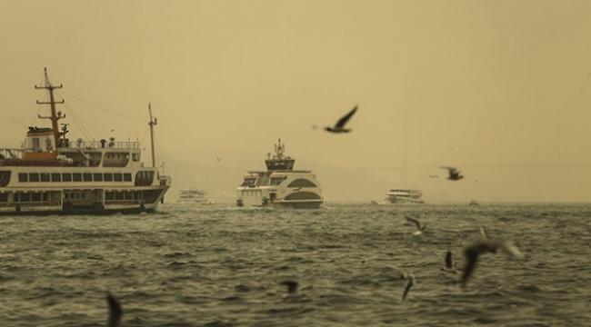 Marmara Bölgesi için toz taşınımı uyarısı