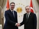 Cumhurbaşkanı Erdoğan Sırbistan Cumhurbaşkanı Vucic ile görüştü