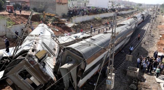 Fasta tren kazasında ölenlerin sayısı 7ye yükseldi