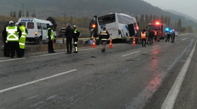 Kahramanmaraşta trafik kazası: 7 ölü, 24 yaralı