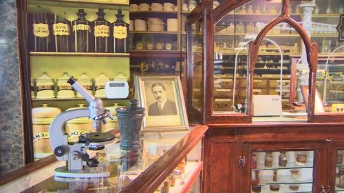 Atatürk'ün ilaçlarının hazırlandığı eczane müzeye dönüştürüldü