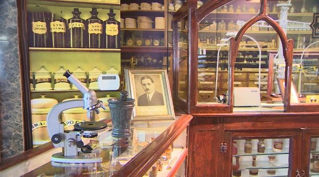 Atatürkün ilaçlarının hazırlandığı eczane müzeye dönüştürüldü