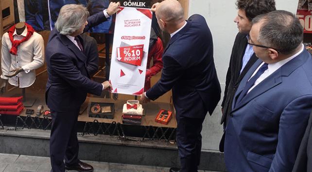 İstiklal Caddesi enflasyonla topyekun mücadeleye destek verdi