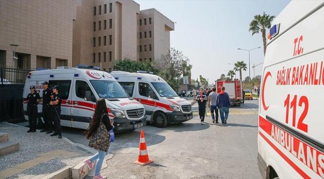 İzmir Adliyesindeki gaz sızıntısına tutuklama