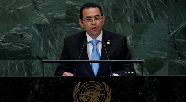 Guatemala hükümetinden Trump'a yardım resti